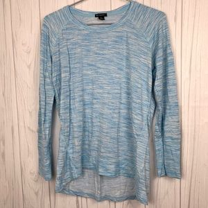 CHAMPION BLUE LONG SLEEVE TOP LARGE